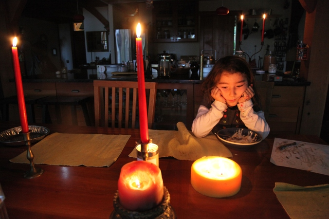 Breakfast by Candlelight