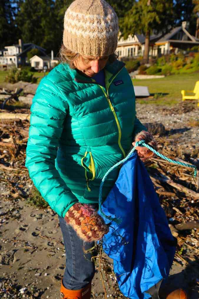"Marine ""Rope,"" 100% Plastic © Liesl Clark"